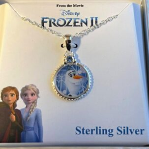 circle olaf necklace 595